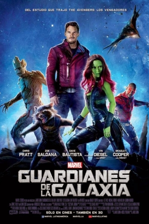uardians of <u><strong>The</strong></u> Galaxy (2014) รวมพันธุ์นักสู้พิทักษ์จักรวาล - Cover