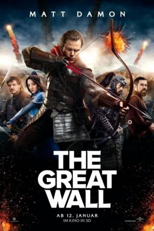 The Great Wall (<u><strong>2016</strong></u>) เดอะ เกรท วอลล์ - Cover