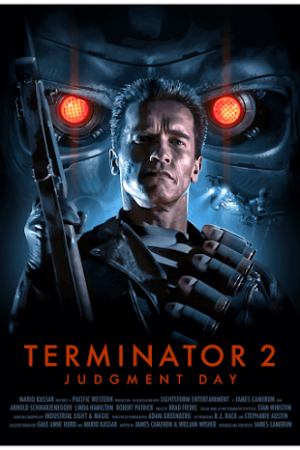 Terminator 2: Judgment Day (1991) คนเหล็ก 2029 - Cover
