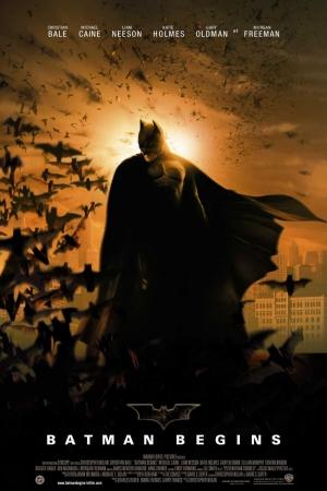 Batman Begins (2005) แบทแมน บีกินส์ - Cover