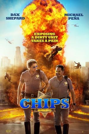 Chips (2017) ชิปส์ ฉลามบก - Cover