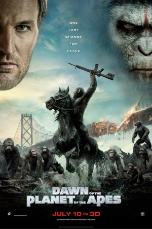 Dawn of the Planet of the Apes (2014) รุ่งอรุณแห่งพิภพวานร - Cover