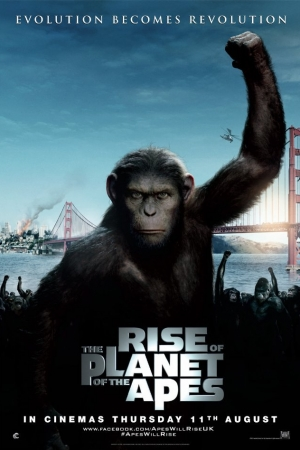 Rise of the Planet of the Apes กำเนิดพิภพวานร - Cover