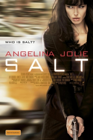 Salt (2010) สวยสังหาร - Cover