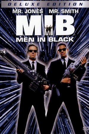 Men In Black 1 เอ็มไอบี หน่วยจารชนพิทักษ์จักรวาล  - Cover