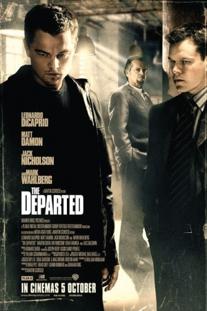 The Departed (2006) ภารกิจโหด แฝงตัวโค่นเจ้าพ่อ - Cover