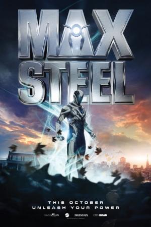 Max Steel คนเหล็กคนใหม่ (2016) - Cover