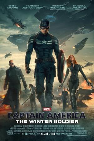 Captain America: The Winter Soldier (2014) กัปตันอเมริกา: มัจจุราชอหังการ - Cover