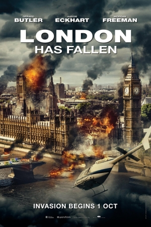 London Has Fallen ผ่ายุทธการถล่มลอนดอน - Cover