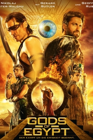 Gods of Egypt สงครามเทวดา (2016) - Cover