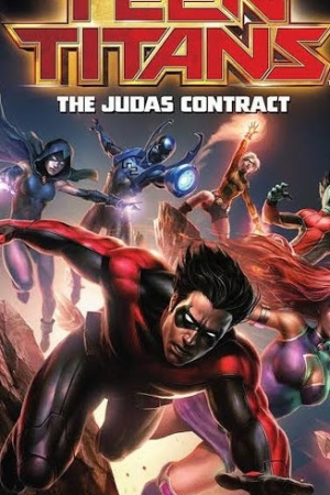 Teen Titans The Judas Contract (2017) ทีนไททั่นส์ - Cover