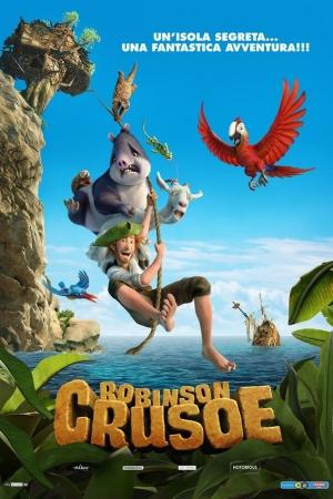 Robinson Crusoe โรบินสัน ครูโซ ผจญภัยเกาะมหาสนุก - Cover