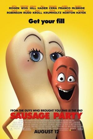 Sausage Party (2016) ปาร์ตี้ไส้กรอก  - Cover