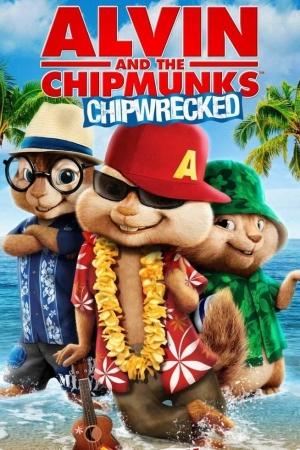 Alvin and the Chipmunks 3 Chipwrecked (2011) อัลวินกับสหายชิพมังค์จอมซน 3 - Cover