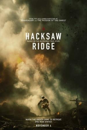 Hacksaw Ridge (2017) วีรบุรุษสมรภูมิปาฏิหาริย์  - Cover