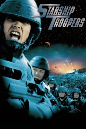 Starship Troopers (1997) สงครามหมื่นขา ล่าล้างจักรวาล - Cover