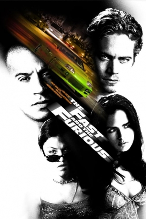 The Fast and the Furious (2001) เร็ว…แรงทะลุนรก - Cover