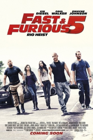 Fast and Furious 5 เร็ว แรง ทะลุนรก 5 (2011 - Cover