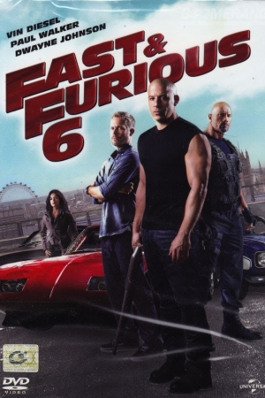 Fast And Furious 6 (2013) เร็ว แรง ทะลุนรก 6  - Cover