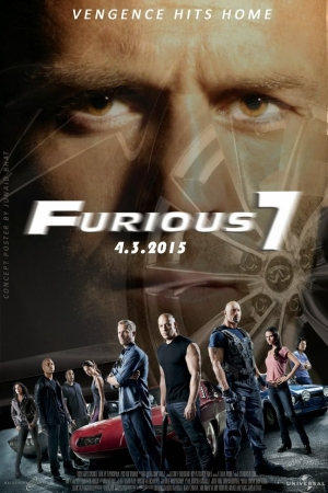 Fast and Furious 7 เร็ว…แรงทะลุนรก 7 - Cover