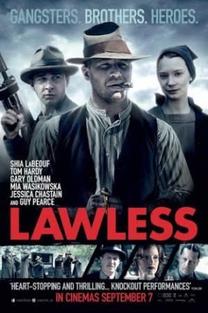 Lawless (2012) คนเถื่อนเมืองมหากาฬ - Cover