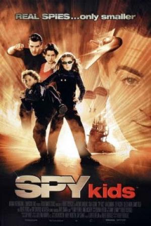 Spy Kids 1 พยัคฆ์จิ๋วไฮเทคผ่าโลก 1 (2001) - Cover