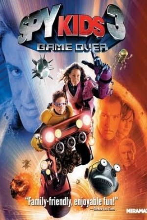 Spy Kids 3 : Game Over พยัคฆ์ไฮเทค 3 มิติ (2003) - Cover