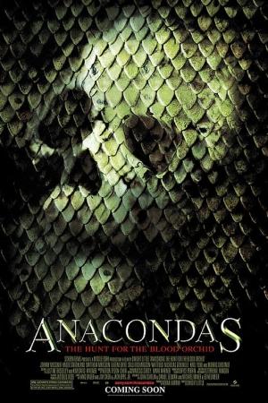 Anacondas 2: The Hunt for the Blood Orchid (2004) อนาคอนด้า เลื้อยสยองโลก 2 - Cover