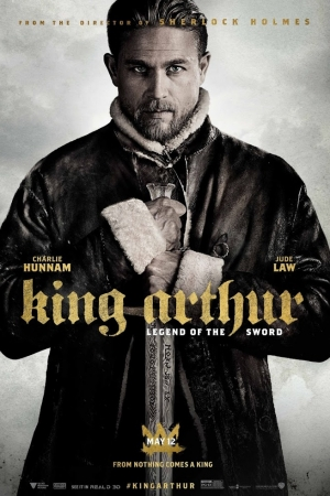 King Arthur: Legend of the Sword (2017) คิง อาร์เธอร์ ตำนานแห่งดาบราชันย์ - Cover