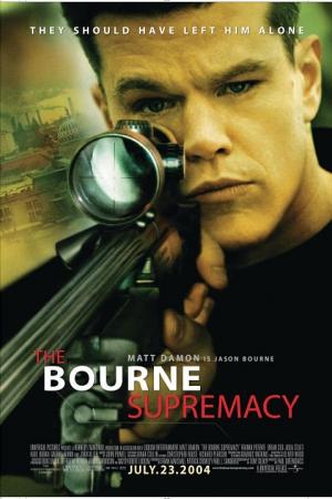 The Bourne 2 Supremacy สุดยอดเกมล่าจารชน (2004) - Cover