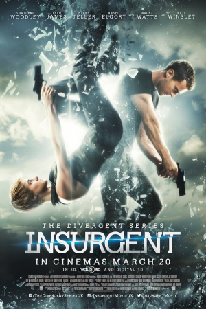 Insurgent (2015) คนกบฏโลก - Cover