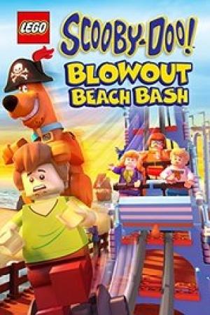 Lego Scooby-Doo! Blowout Beach Bash (2017) สคูบี้ดู - Cover