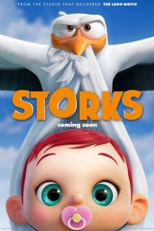 Storks (2016) บริการนกกระสาเบบี๋เดลิเวอรี่ - Cover