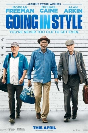 GOING IN STYLE (2017) สามเก๋าปล้นเขย่าเมือง - Cover