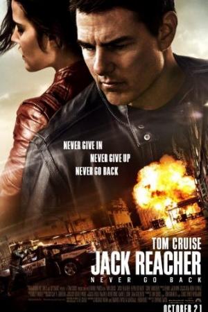 Jack Reacher 2: Never Go Back (2016) ยอดคนสืบระห่ำ 2 - Cover