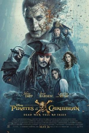 Pirates of the Caribbean 5 : Dead Men Tell No Tales (2017) ไพเรทส์ ออฟ เดอะ แคริบเบียน 5: สงครามแค้นโจรสลัดไร้ชีพ - Cover
