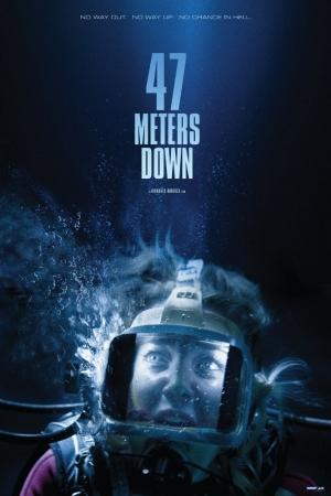 47 Meters Down (2017) 47 ดิ่งลึกเฉียดนรก - Cover