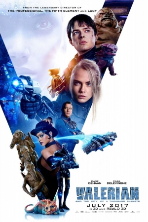 Valerian and the City of a Thousand Planets (2017) วาเลเรียน พลิกจักรวาล - Cover