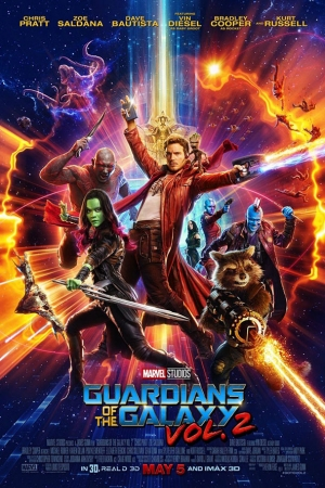 Guardians of the Galaxy Vol. 2   รวมพันธุ์นักสู้พิทักษ์จักรวาล 2 - Cover