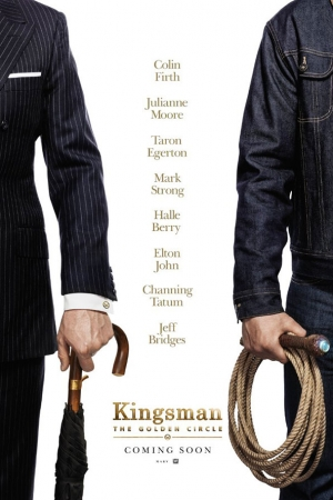 "Kingman : The Golden Circle ""คิงส์แมน โคตรพิทักษ์บ่มพยัคฆ์"" - Cover"