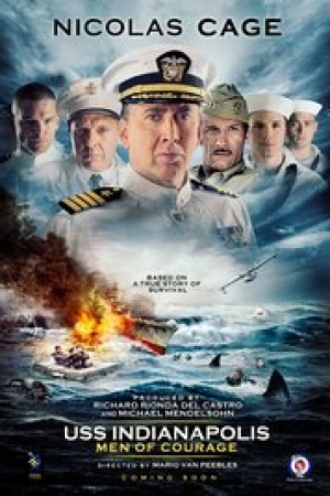 USS Indianapolis: Men of Courage (2016) - Cover