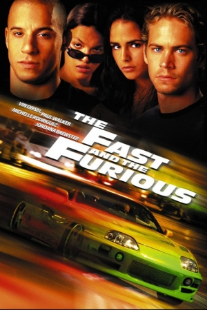The Fast and the Furious 1 เร็วแรงทะลุนรก 1 (2001) - Cover