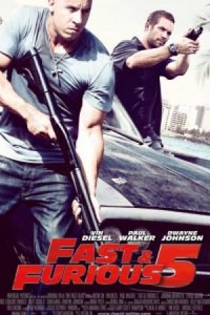 Fast 5 Fast Five (2011) เร็ว..แรงทะลุนรก - Cover