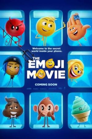 The Emoji Movie อิโมจิ แอ๊พติสต์ตะลุยโลก (2017) - Cover