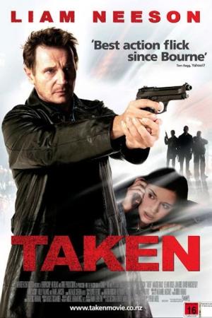 Taken 1 เทคเคน สู้ไม่รู้จักตาย (2008) - Cover
