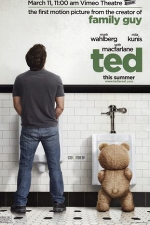 Ted (2012) : หมีไม่แอ๊บ แสบได้อีก ภาค 1 - Cover