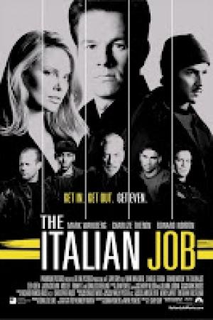The Italian Job (2003) ปล้นซ้อนปล้น พลิกถนนล่า - Cover