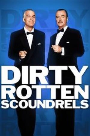 Dirty Rotten Scoundrels (1988) เหนืออินทรียังมีกระจอก - Cover