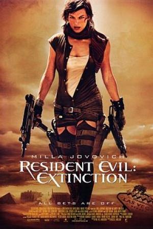 Resident evil 3 extinction – ผีชีวะ 3 สงครามสูญพันธุ์ไวรัส (2007) - Cover