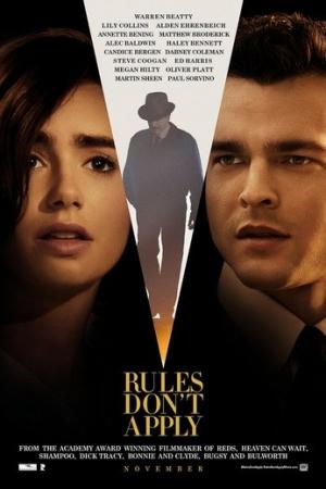 Rules Don't Apply ฝืนลิขิตรัก (2016) - Cover